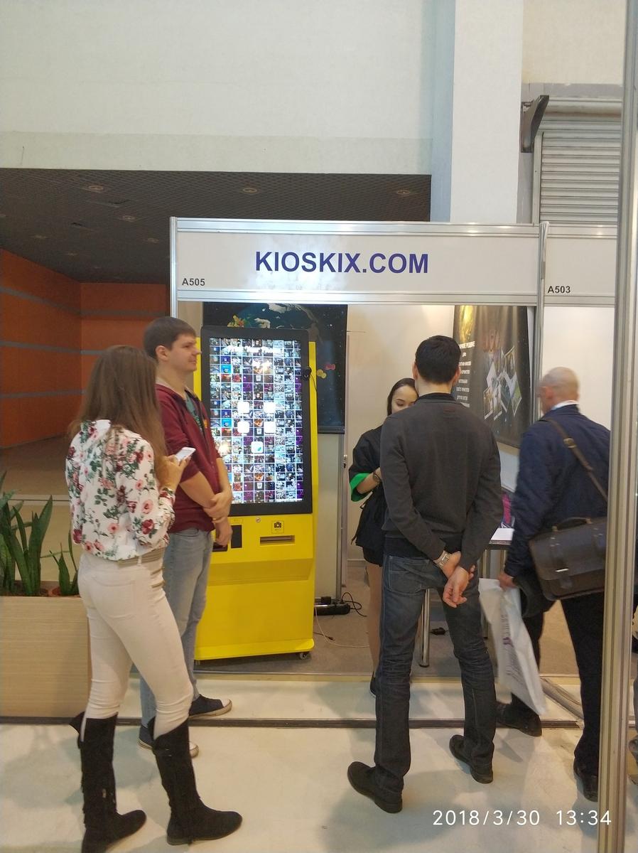 VendExpo 2018. Фотомат KioskIX.com от 04.04.2018 13:15:00