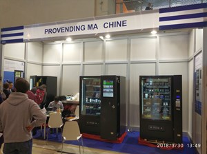VendExpo 2018. Стенд PROVENDING MA CHINE от 4 апреля 2018 г.