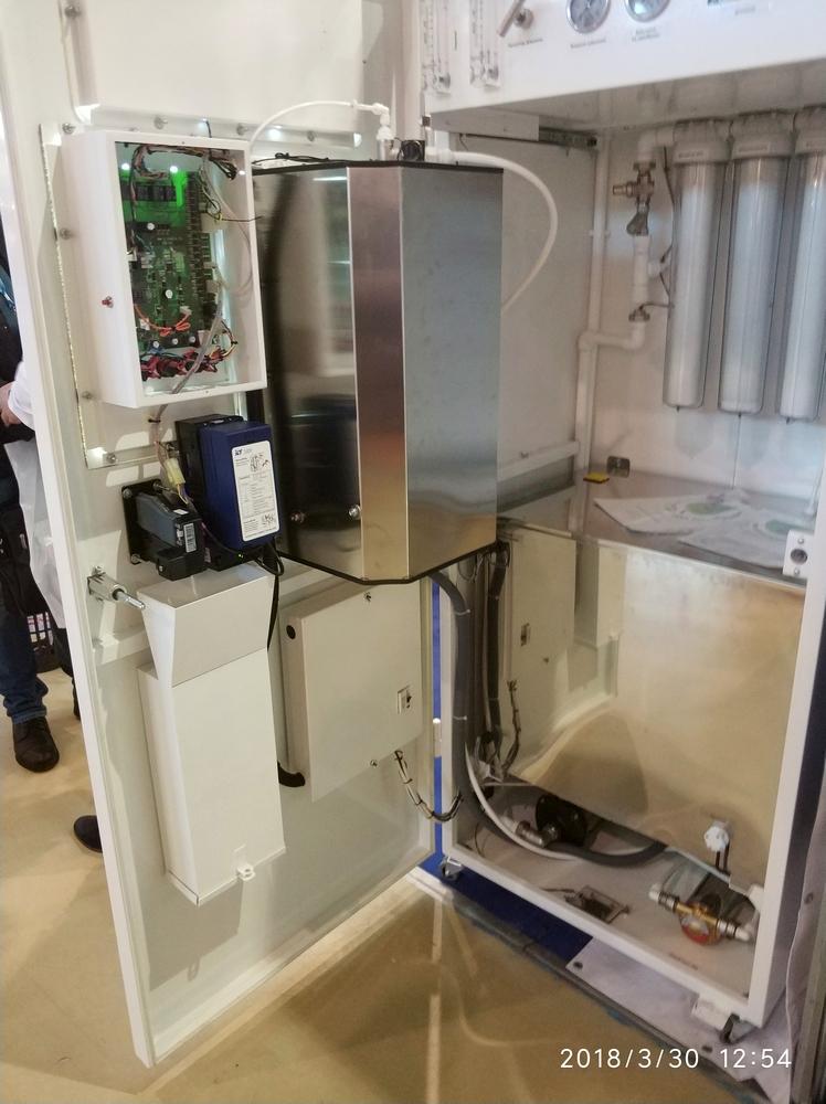 ВендЭкспо 2018. Вендинговый аппарат по продаже питьевой воды Живая Вода от 05.04.2018 8:55:00