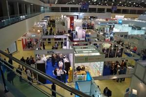 Общий план на зал выставки VendExpo 2019 от 25 марта 2019 г.