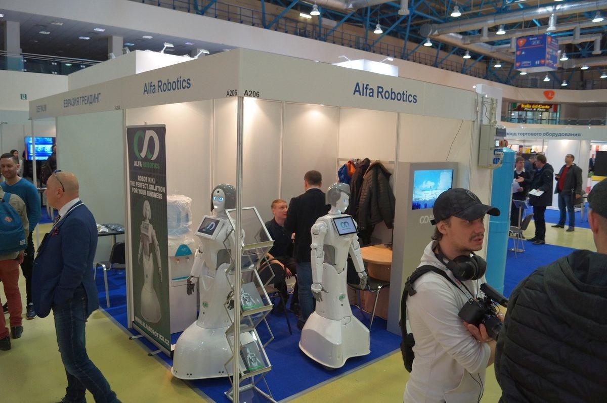 VendExpo 2019. Стенд Alfa Robotics от 25.03.2019 0:00:00