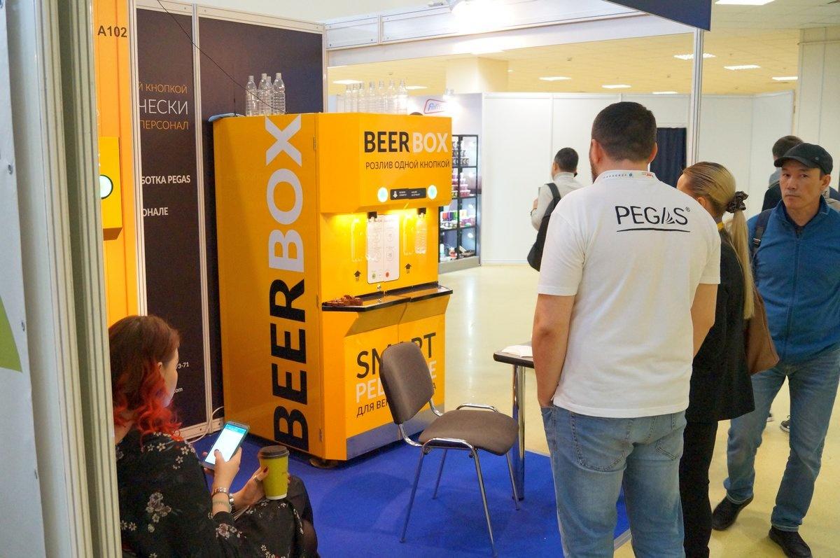 VendExpo 2019. Стенд пивного вендингового аппарата BeerBox от 25.03.2019 0:00:00